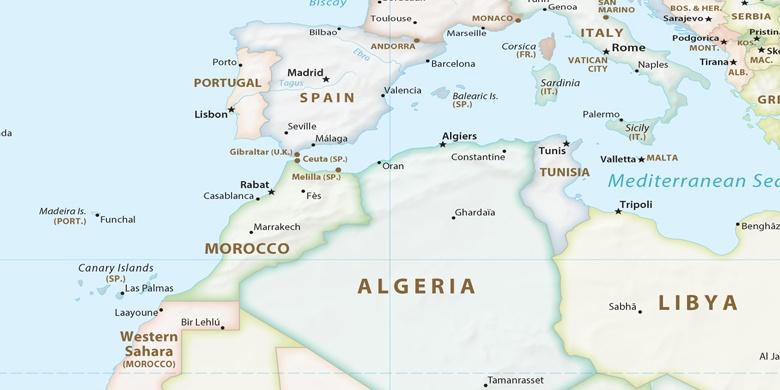 Cartina Spagna Marbella.Marbella Sulla Mappa